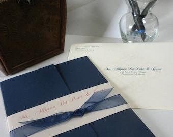 Custom Wedding Invitation Suite - ALL ORIGINAL DESIGNS - Customize Format & Design - Bulk Discounts Available