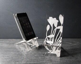Acryl-iPhone Stand Universal Handy stehen 5 Größen, iPhone 6, iPhone 6 Plus, iPhone 5, iPhone 4, Docking-Station