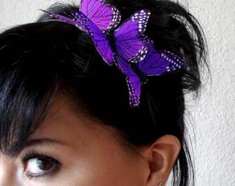 butterfly headband - butterfly hair accessory - bridesmaid bohemian accessory - hair accessories for women - bridal hair piece  - HERMIONE