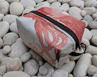Octopus Toiletry Bag -  Travel Bag - Utility Bag