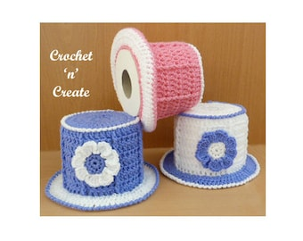 Top Hat TP Cover Crochet Pattern (DOWNLOAD) CNC46