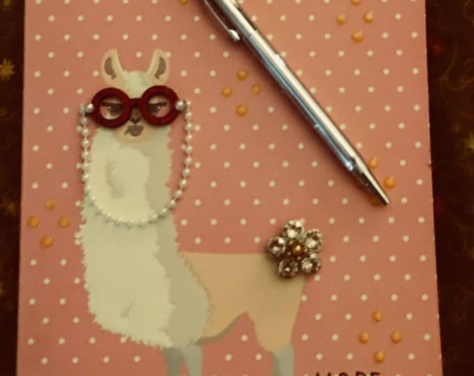 Nope! A bitchy llama journal