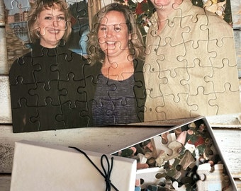 Personalized Photo Puzzle - custom photo puzzle - custom picture puzzle - your photo on a jigsaw puzzle