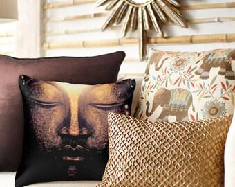 DEEP BREATH Square Pillow