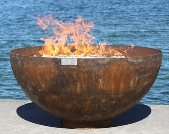 The Big Bowl O' Zen 37 inch Sculptural Firebowl