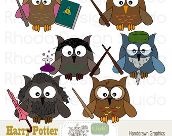 Owl Clip Art Harry Potter Digital Cartoon Birds