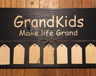 Grandparent plaque