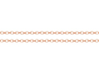 14Kt Rose Gold Filled 1.2mm Rolo Chain - 5ft Strong and Heavy chain Made in USA 10% discounted Lowest price (4805-5)/1