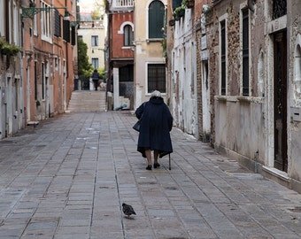 Venice, Italy, Back Streets and City Streets, Venice Photography