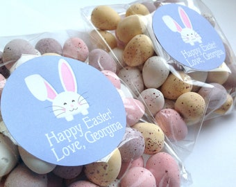 Easter Gift labels, Personalised easter stickers, Happy Easter Stickers, Happy Easter Labels, Easter stickers, Easter favour labels 259