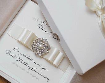 Luxury wedding card etsy