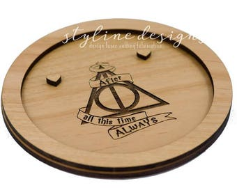 Harry Potter Inspired - After All This Time Always Ring Dish -Harry Potter Wedding Theme - ALways Ring Holder