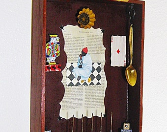 Assemblage Art - Shadow Box Art - Found Objects - 3D Art - Mixed Media Art - Other Assemblage - Wall Decor - Box Art - Original Art