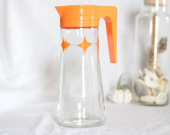 1960's Anchor Hocking Glass Juice Pitcher - Ships Free!