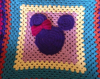 Disney Inspired Minnie Mouse Blanket