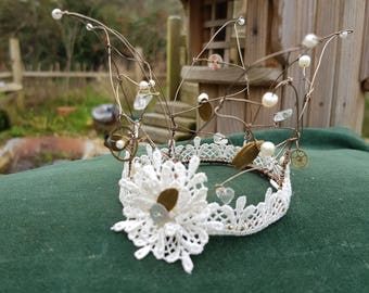 Fairy Coronet/Tiara - Steampunk Wedding