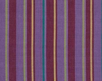 Kaffe Fassett, Wovens, Alternating Stripe, Lavender - see coordinates, multi