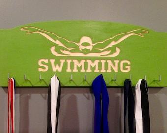 Swimming Ribbons & Medal Display Board