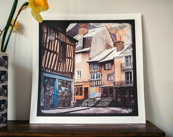 Penhoët Street - Reindeer - 30x30cm photo print - signed and numbered