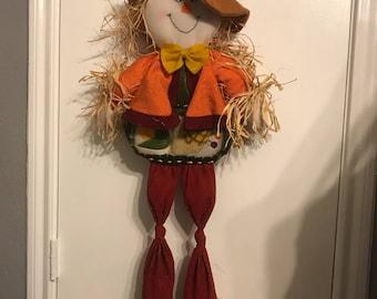 Fall Scarecrow Door Hanger Seasonal Decor Door Hanger
