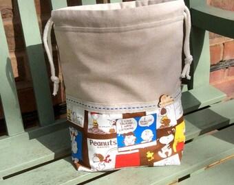 Project Bag (Medium) : Chocolate Peanuts