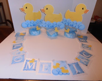Duck Baby banner -Welcome baby (name)