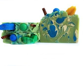 Apple Butter Pie Handmade Soap / Apple Butter Pie / Handmade Soap / Bar Soap / Stocking Stuffers / Christmas Gift / Gift for Her / Gift