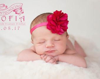 15 Birth Announcement Overlays