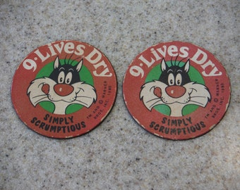 1980 Sylvester The Cat Magnets