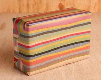 Multicolored Stripe Wrapping Paper