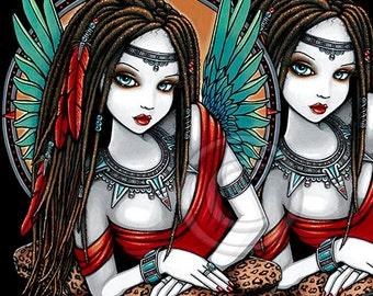 Zaria - Myka Jelina - Aztec Goddess-PSP Tube