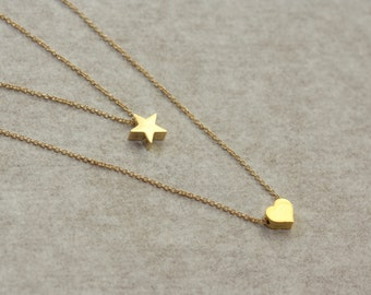 Star of My Heart, Birthday Gift for Wife, for Girlfriend, for Sister, for Fiance, for Daughter in Law, for Niece, for Layering, for Summer