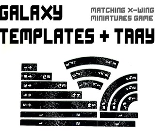 Galaxy TEMPLATE SET + TRAY