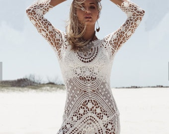 One of our most Gorgeous styles Beach Coverup / Bathing suit Coverup