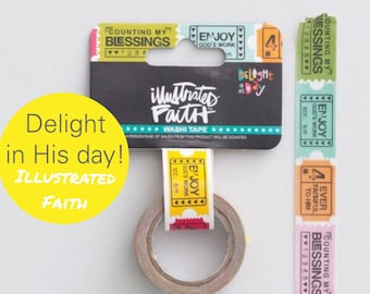 Delight in His Day -Washi by Illustrated Faith