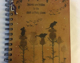 Woodland Field mice notebook