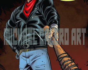 Neganpool ( Negan x Deadpool mashup ) with Lucille