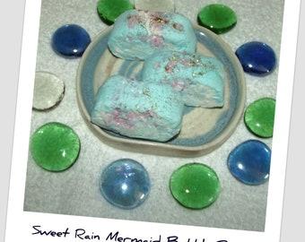 Sweet Rain Bubble Bars, Mermaid Soap, Mermaid Bubble Bars, Bubble Bath, Ocean Bubble Bath, Rain Bubble Bar, Ocean Bath Fizzy, Ocean Bubbles