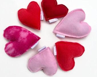 Hearts Cat Toys | Kitty Kisses | Cat Toys | Catnip Cat Toys | Gift for Cat | Fun Cat Toys | New Cat Gift | Vegan | Gift for Cat Lover