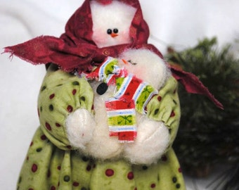 Mother and Child Snowmen