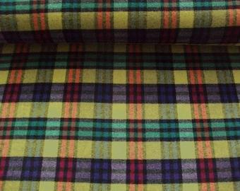 Wool fabric L7297-02 in Mustard