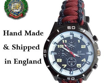 Royal Engineers Paracord Watch