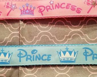 Prince or Princess themed keychain
