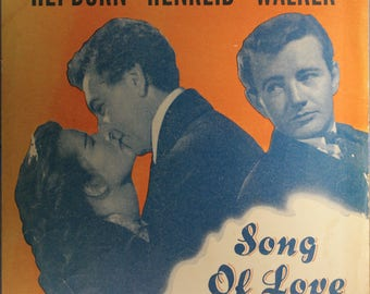 """1947 Sheet Music, """"As Years Go By"""""""