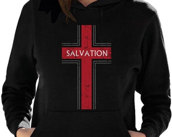 Salvation Christian Fashion Gifts Women Hoodie
