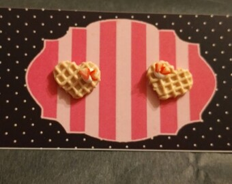 Great Valentine hearts earrings