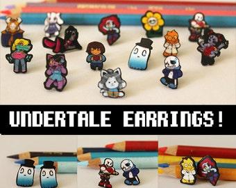 Undertale Earrings
