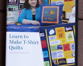 Learn to Make T-shirt Quilts DVD