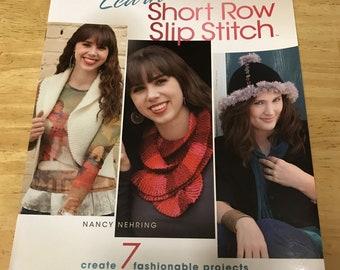 Annies Crochet: Learn to Short Row Slip Stitch