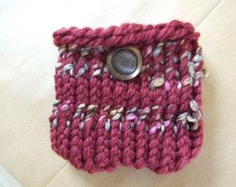 Mauve and  Mazie  Mini  Knit bag